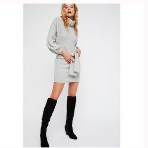 NWT Free People X Saylor Giovanna Sweater Dress
